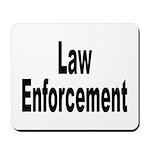 Law Enforcement Mousepad