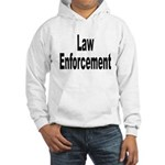 Law Enforcement (Front) Hooded Sweatshirt