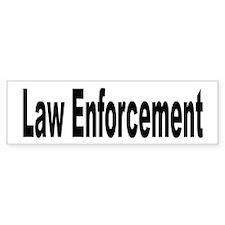 Law Enforcement Bumper Bumper Sticker