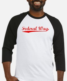 Vintage Federal Way (Red) Baseball Jersey