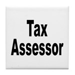 Tax Assessor Tile Coaster