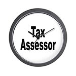 Tax Assessor Wall Clock