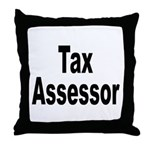 Tax Assessor Throw Pillow
