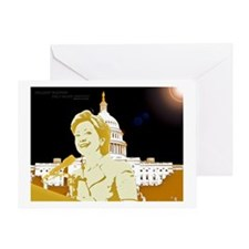 Hillary/capitol Greeting Card