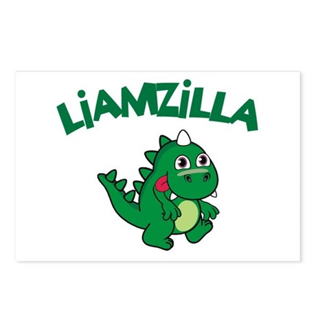 Liamzilla Postcards (Package of 8)