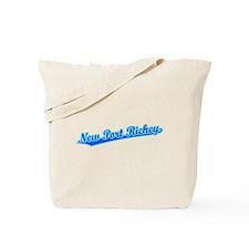 Retro New Port Ric.. (Blue) Tote Bag