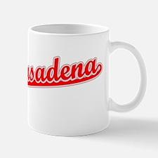 Retro South Pasadena (Red) Mug