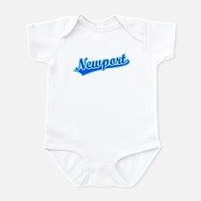 Retro Newport (Blue) Infant Bodysuit