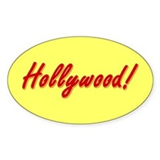 Hollywood! souvenir Decal