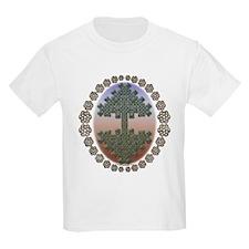 Celtic Tree of Life Kids T-Shirt