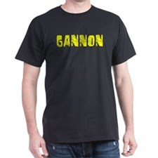 Gannon Faded (Gold) T-Shirt