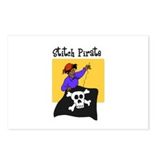 Stitch Pirate - Sewing Crafts Postcards (Package o