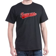 Retro Taurus (Red) T-Shirt