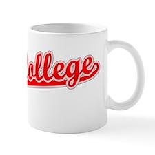 Retro State College (Red) Mug