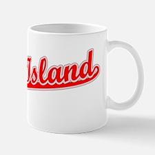 Retro Staten Island (Red) Mug