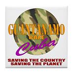 Guantanamo Cafe (Gitmo) Tile Coaster