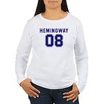 Hemingway 08 Women's Long Sleeve T-Shirt