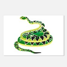 Green Snake Postcards (Package of 8)