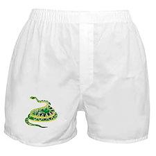 Green Snake Boxer Shorts