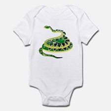 Green Snake Infant Bodysuit