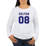 Helton 08 Women's Long Sleeve T-Shirt