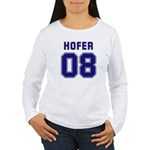 Hofer 08 Women's Long Sleeve T-Shirt