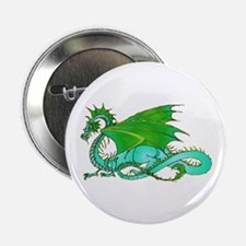 "Shades of Green Dragon 2.25"" Button"
