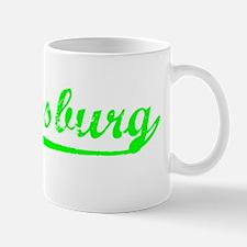 Vintage Hattiesburg (Green) Mug
