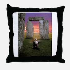 Unique Druid Throw Pillow