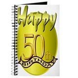 50th birthday men Journals & Spiral Notebooks
