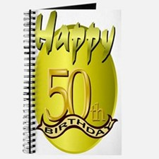 50th Birthday Journal