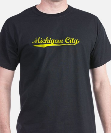 Vintage Michigan C.. (Gold) T-Shirt
