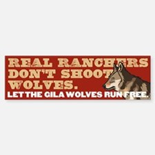 Real Ranchers Bumper Bumper Bumper Sticker