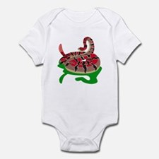Angry Snake Infant Bodysuit