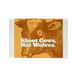 Shoot Cows Rectangle Magnet (100 pack)
