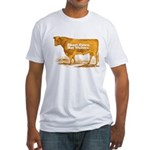 Shoot Cows Fitted T-Shirt