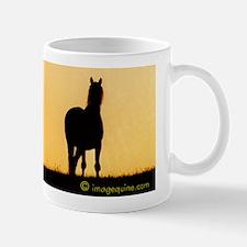 Sunset Horse Mug