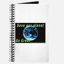 Save our Planet-Go Green Journal