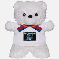 Save our Planet-Go Green Teddy Bear
