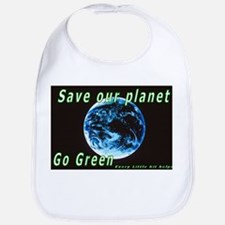 Save our Planet-Go Green Bib