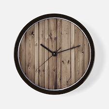 Cute Barn wood Wall Clock