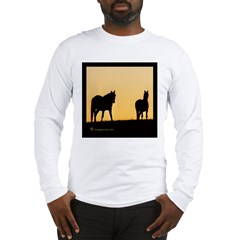 Sunset Horse Long Sleeve T-Shirt