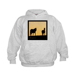 Sunset Horse Hoodie