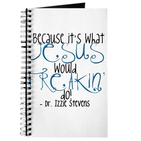 Freakin' Do (Blue - Grey's An Journal