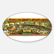 Ringling Bros' Oval Decal
