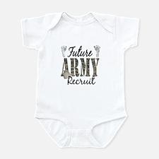 Future Army Recruit Infant Bodysuit