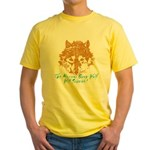The Wolf Will Survive! Yellow T-Shirt