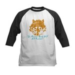 The Wolf Will Survive! Kids Baseball Jersey