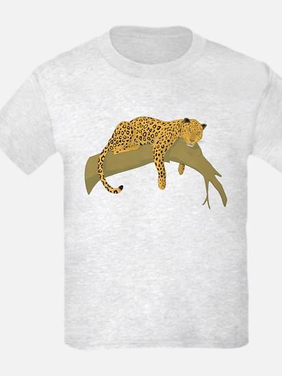 Lazy Leopard T-Shirt
