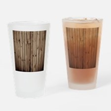 Cute Weathered Drinking Glass